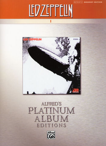 Led Zeppelin Drum Transcripts from Alfred Publishing