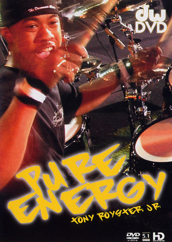 Purchase Pure Energy with Tony Royster Jr at a discount from TigerBill's Online Drum Shop