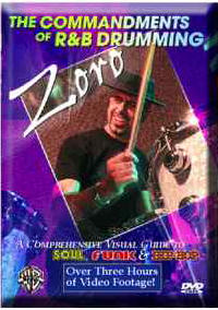 Commandments of R&B Drumming by Zoro from Alfred Publishing