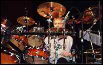 Billy Ashbauch at the Modern Drummer Festival 2002