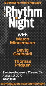 Rhythm Night Benefit August 13th!