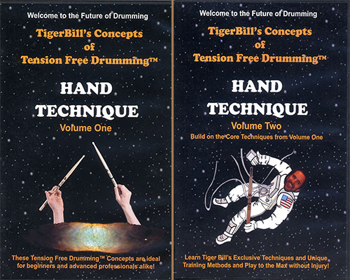 Tension Free Drumming DVDs