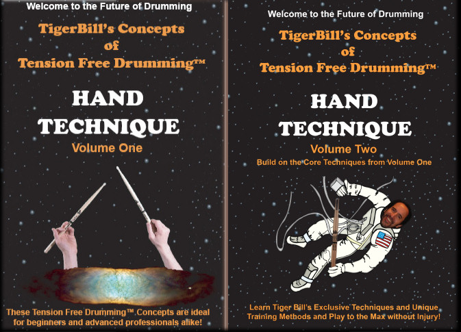 Click Here for a special limited time discount price when you buy both Tension Free Drumming DVDs!