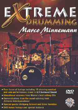 Click here to purchase Marco Minnemann's DVD Extreme Drumming