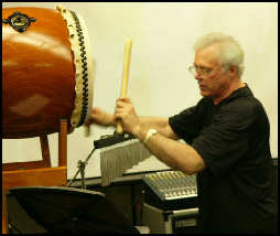 Click for Video of Glenn Weber and Rurie Furukaki, exclusively from Tiger Bill's DrumBeat
