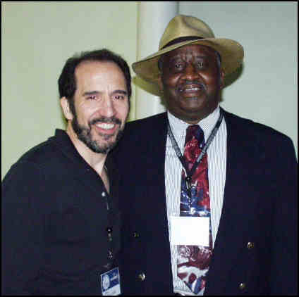 """Ugly"" Tiger Bill Meligari with Bernard ""Pretty"" Purdie"